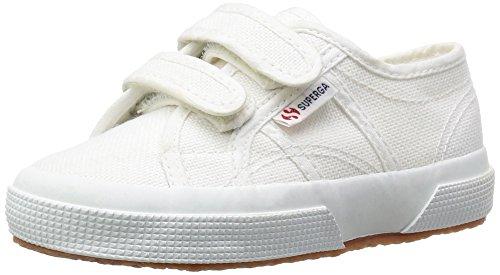 Superga 2750 Jvel Classic, Unisex-Kinder Sneakers, Weiß (901), 32 EU