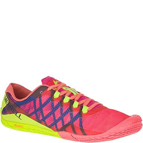 Merrell Vapor Damenlaufschuhe, 3 Trail Runner, Pink (Acid Punch), 36.5 EU