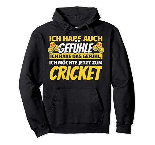 Cricket Geschenke Cricketspieler Cricket Pullover Hoodie