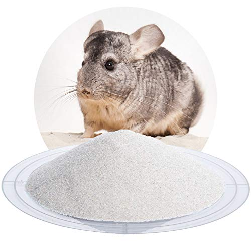 Schicker Mineral 25 kg Chinchillasand Badesand naturweiß, hochrein, samtweich