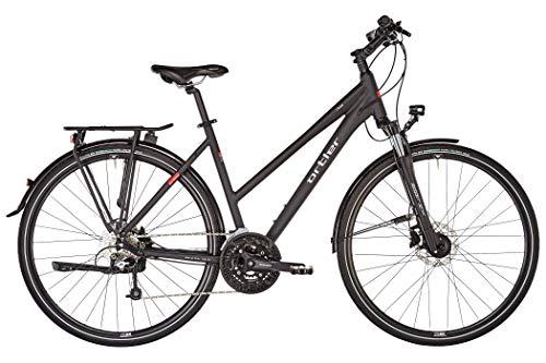 Ortler Chur Damen schwarz matt Rahmenhöhe 50cm 2019 Trekkingrad