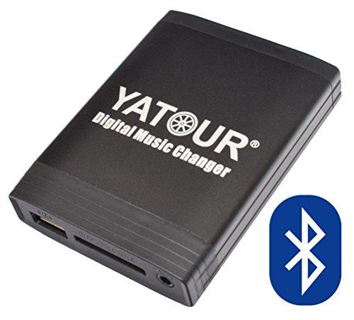 Yatour YTM06-VW12-BT+KEY3 digitaler Musikadapter USB, SD, AUX, Freisprecheinrichtung Bluetooth VW 12 Pin mit Ausbauhaken