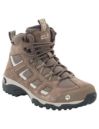 Jack Wolfskin Damen Vojo Hike 2 Texapore MID W Wasserdicht Trekking-& Wanderstiefel, Beige (Siltstone 5116), 41 EU