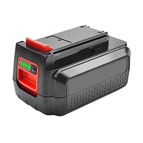 Bonacell 3000mAh 40V Li-Ion Ersatz Akku für LBXR36 Werkzeugbatterien mit Ladezustandsanzeige | Kompatibel mit BL20362 LBX2040 LBX36 LBXR2036 BL1336-XJ BL2036-XJ BL2036