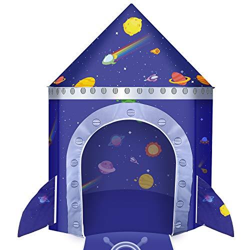 joylink Kinderspielzelt, Castle Spielzelt für Kinderzelt Outdoor & Indoor Spielzeug Castle Tent Playhouse Spielzelt Tragbare Faltbare Kinder Castle Spielhaus (lila)