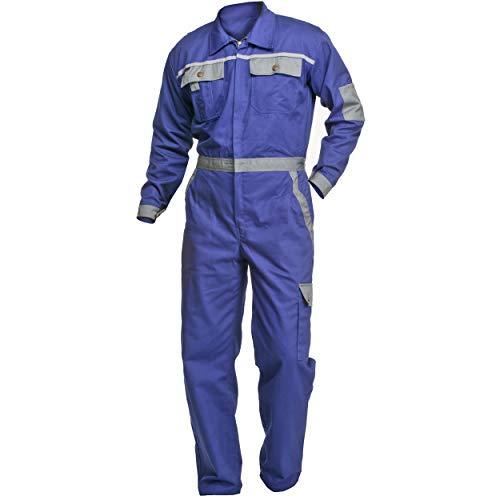 Arbeitsoverall Charlie Barato® Profi Line kornblau/grau - Overall für Handwerker Größe 60