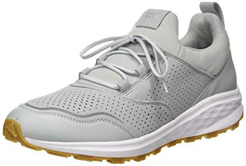 Jack Wolfskin Herren Coogee XT Low M Sneaker, Light Grey/White, 44.5 EU