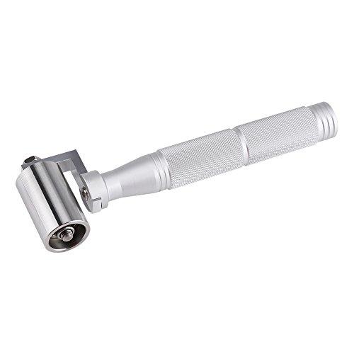 Zerodis 40mm Edelstahl Tapete DIY Hand Roller Druckkante Roller Papiernaht Roller