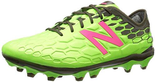 New Balance Herren Visaro 2.0 Pro Fg Football Boots Fußballschuhe, Grün (Energy Lime/Military Green Energy Lime/Military Green), 47 EU