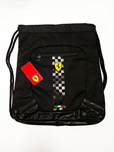 Ferrari Rucksack Rucksack Beutel Scuderia schwarz