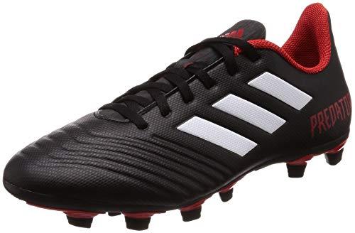 adidas Herren Predator 18.4 Fxg Fußballschuhe, Schwarz (Negbás/Ftwbla/Rojo 001), 43 1/3 EU