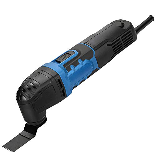 G LAXIA Multifunktionswerkzeug Profis 280W, 6 Variable Geschwindigkeiten, 11000-21000 OPM, Oszillationswerkzeug mit 15 Zubehör und Tasche