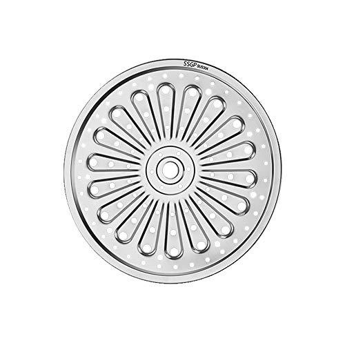 Dampfwanne, Edelstahl-Dampfgarer Rack Insert Stock Pot Dicker Dampfwannenständer Kochgeschirr Werkzeug Dampfplatte