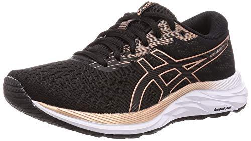 ASICS Womens Gel-Excite 7 Running Shoe, Black/Rose Gold