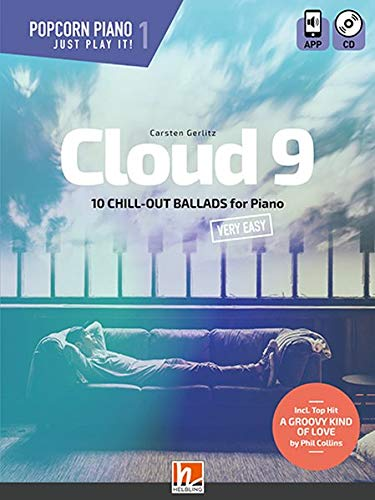 Cloud 9 (Heft + Audio-CD): 10 Chill-Out Ballads for Piano