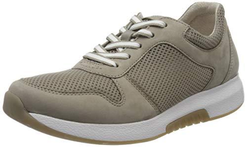 Gabor Shoes Damen Rollingsoft Sneaker, Braun (Visone 33), 37.5 EU