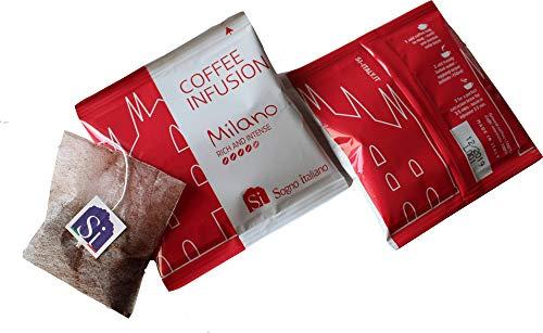 Sogno SI Kaffeebeutel Milano Italian Blend (Packung mit 50 Kaffeebeuteln wie Teebeutel, einzeln verpackt)