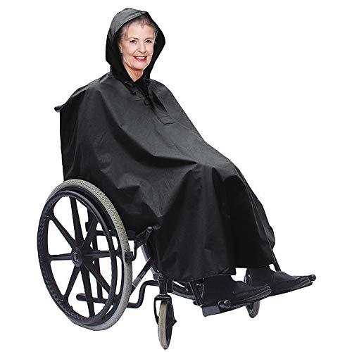 Bramble Standard Rollstuhl Poncho - Wasserdicht - Winddicht - Idealer Schutz vor Regen und Wind - Passend für alle normalen Rollstühle-Regenschutz, Regenjacke & Regencape für Rollstuhlfahrer
