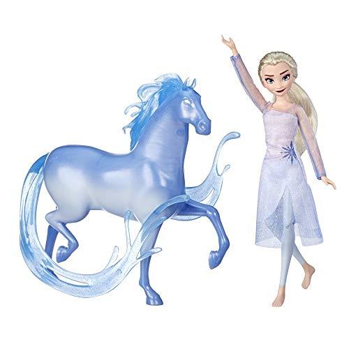Disney Die Eiskönigin Elsa Puppe und Nokk Figur, inspiriert durch den Film Die Eiskönigin 2