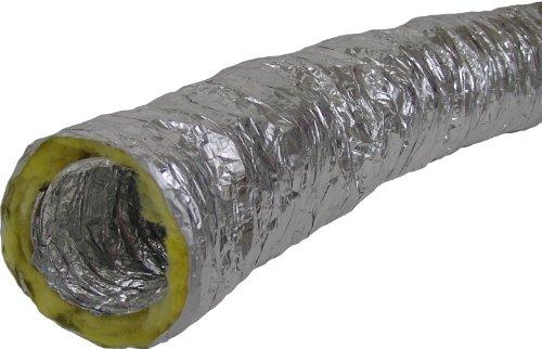 Aluflexrohr Alurohr Flexrohr Luft Schlauch Rohr Flexschlauch flexibel stabil (Therm. isoliert 5m / 12.5