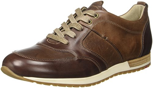 LLOYD Herren Baxley Sneaker, Braun (Cigar/Lama), 40.5 EU