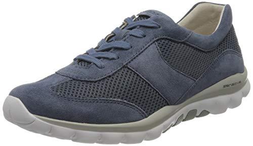 Gabor Shoes Damen Rollingsoft Sneaker, Blau (Nautic 26), 38.5 EU