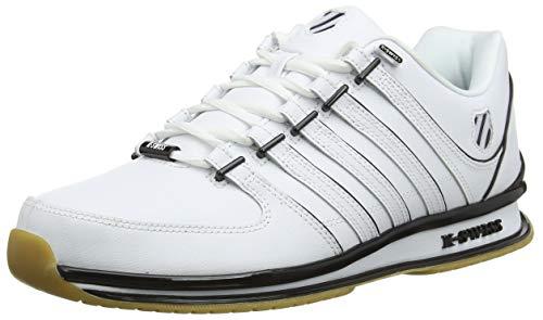 K-Swiss Herren RINZLER SP Sneaker, Weiß (White/Black/Gum 168), 46 EU