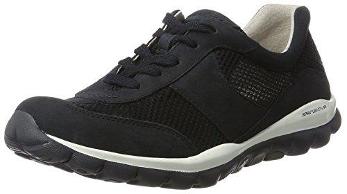 Gabor Shoes Damen Rollingsoft Sneakers, Blau (Nightblue 46), 38.5 EU