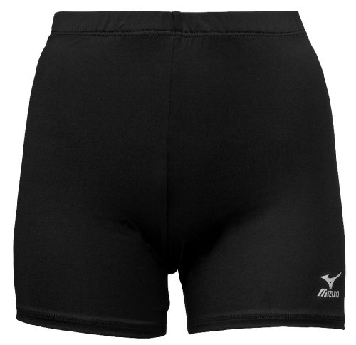 Mizuno Volleyball-Shorts Vortex, Damen, 440202.9090.06.L, Schwarz, Large