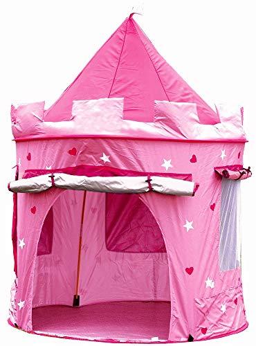Kinderspielzelt Kinderzelt, Spielzelt Prinzessin Traum Schloss Burg Haus für Mädchen, im Kinderzimmer, Indoor/innen/außen/draußen, Pop Up
