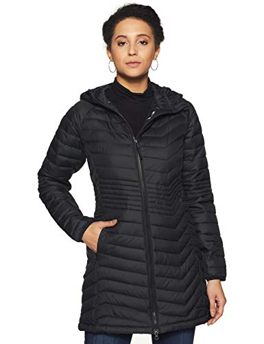 Columbia Powder Lite Mid Damenjacke, schwarz (Black), S