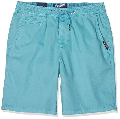 Superdry Herren SUNSCORCHED Shorts, Blau (Glacier Blue Zjr), W(Herstellergröße: 28)