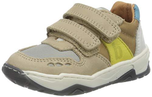 Bisgaard Jungen Lauge Sneaker, Mehrfarbig (Sand 1107), 30 EU