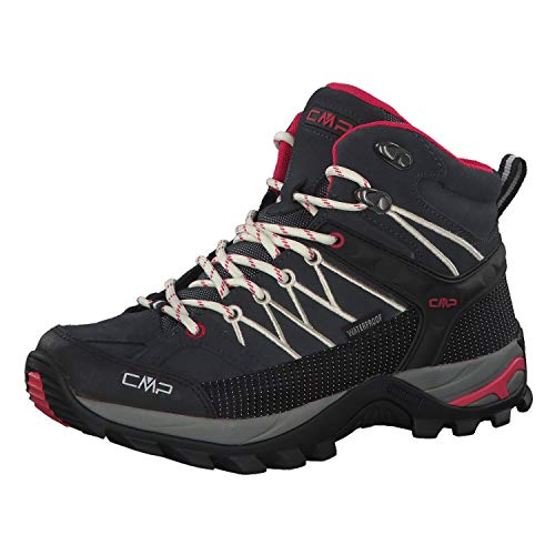 CMP Damen Rigel Mid Wmn Shoe Wp Trekking-& Wanderstiefel, Grau (Antracite-Off White 76uc), 37 EU