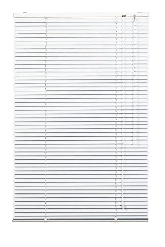 Lichtblick AJ.070.220.01 Jalousie Aluminium Weiß, 70 cm x 220 cm (B x L)