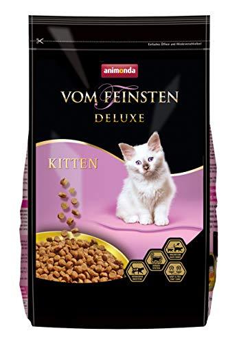 animonda Vom Feinsten Deluxe Kitten Katzenfutter, Trockenfutter für Katzen im Wachstum, Geflügel, 1,75 kg