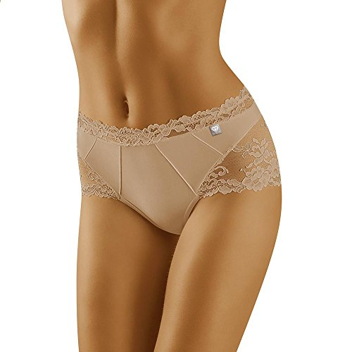 Wolbar Damen Shorts 3515 Limited Edition Diamant, Beige,Large