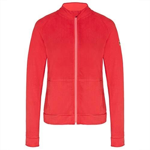 TAO Couletto Sportswear Damen Freizeitjacke aus Bio Baumwolle (KBA), GOTS Zertifiziert NADA Rubin 40