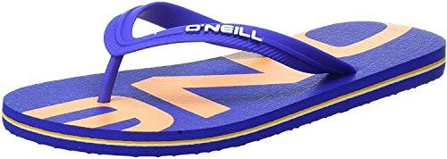 O'Neill Herren FM Profile Logo Sandals Zehentrenner, Blau (Dazzling Blue), 44 EU