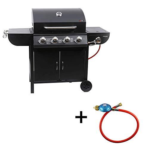 Mayer Barbecue ZUNDA Gasgrill MGG-541 Basic mit Seitenbrenner