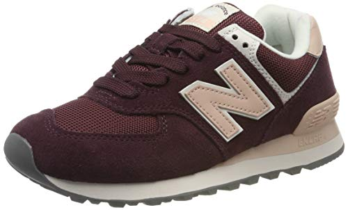New Balance Damen 574v2 Sneaker, Rot (Red Red), 37.5 EU