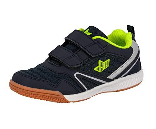Lico BOULDER V Unisex Kinder Multisport Indoor Schuhe, Marine/ Lemon, 36 EU