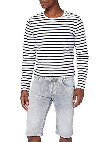 Pepe Jeans Herren Spike Short Badeshorts, Blau (Denim 000), 46 (Herstellergröße: 38)