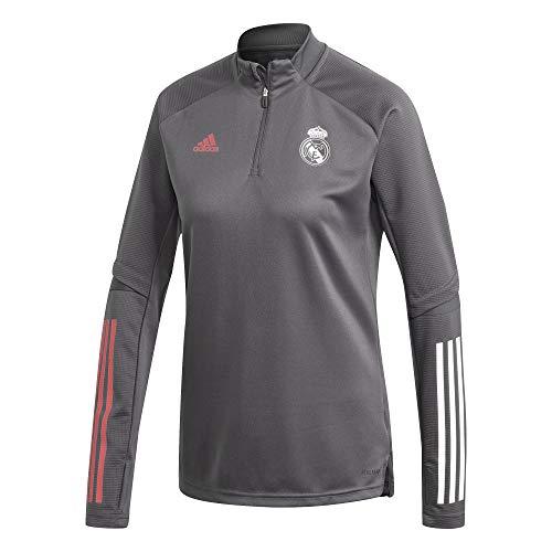Real Madrid Saison 2020/21 Trainingsjacke Offiziell, Grau, XL
