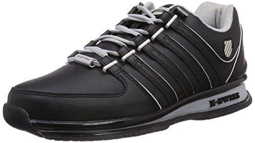 K-Swiss Rinzler SP, Herren Sneakers, Schwarz (Black/Gull Gray/Bone 005), 42 EU (8 Herren UK)