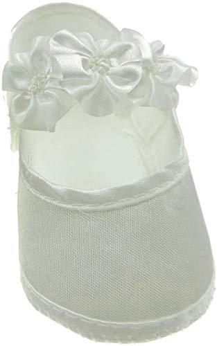 Glamour Girlz , Baby Mädchen Lauflernschuhe weiß weiß Ivory 0-3 Months