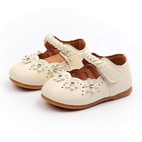 Allence Babyschuhe, Kleinkind Baby Mädchen Kinder Schuhe Blume Leder Einzelne Schuhe Weiche Sohle Prinzessin Schuhe