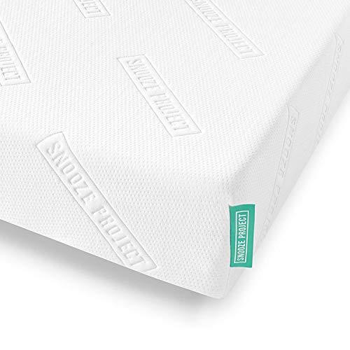 Snooze Project Matratze 180 x 200 x 19 cm - Härtegrad H2 H3 Mittel-Hart - Kaltschaum RG 50 Schaumstoff - Allergiker-geeignet und Öko-Tex 100 zertifiziert - 100 Tage Probeschlafen
