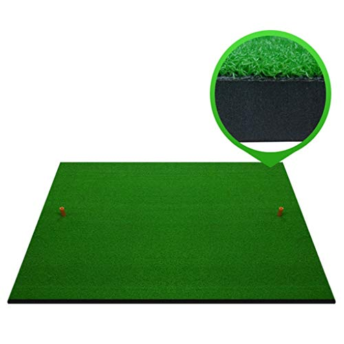 Golf Zubehör Launch Pad Mat Golf Simulator Trainingsgerät Pad Golf Abschlagmatte Grün [Dicke 2cm] (größe : 100cm*150cm)