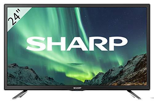 SHARP LC-24CHG5112E HD Ready D-LED TV, 60 cm (24 Zoll), Triple Tuner [Energieklasse A]